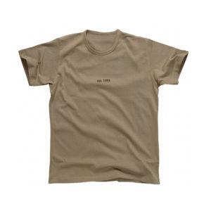 Est 1993 Shirt (Beige Short Sleeve)
