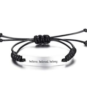 Believe Beloved Belong Bracelet